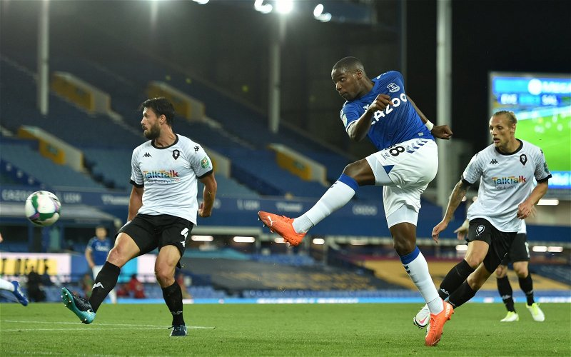 Image for Everton: Greg O'Keeffe demands answers after Niels Nkounkou loaned out