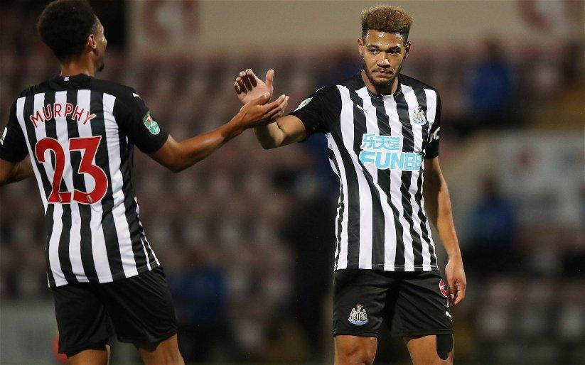Image for Newcastle United: Fans slam Joelinton vs Saints