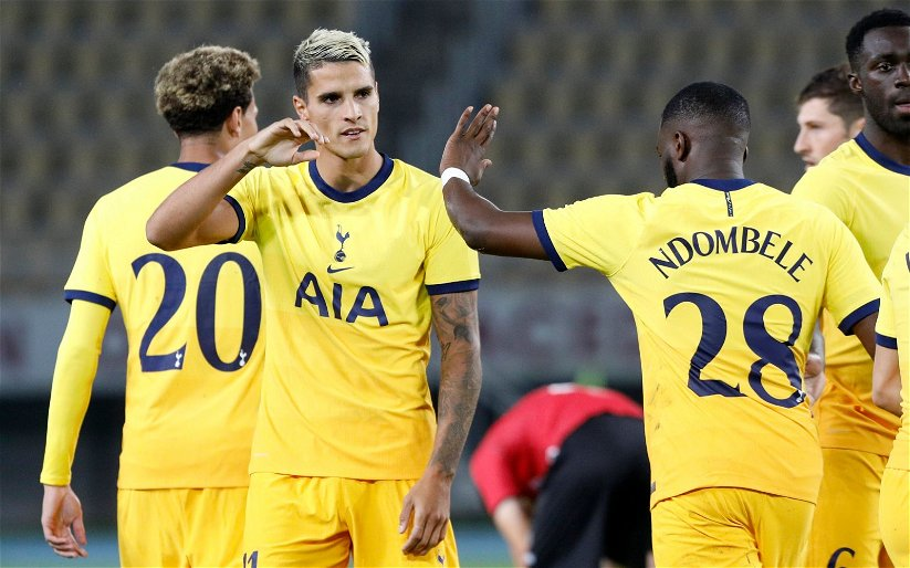 Image for Tottenham Hotspur: Fans react to club duo's social media comments