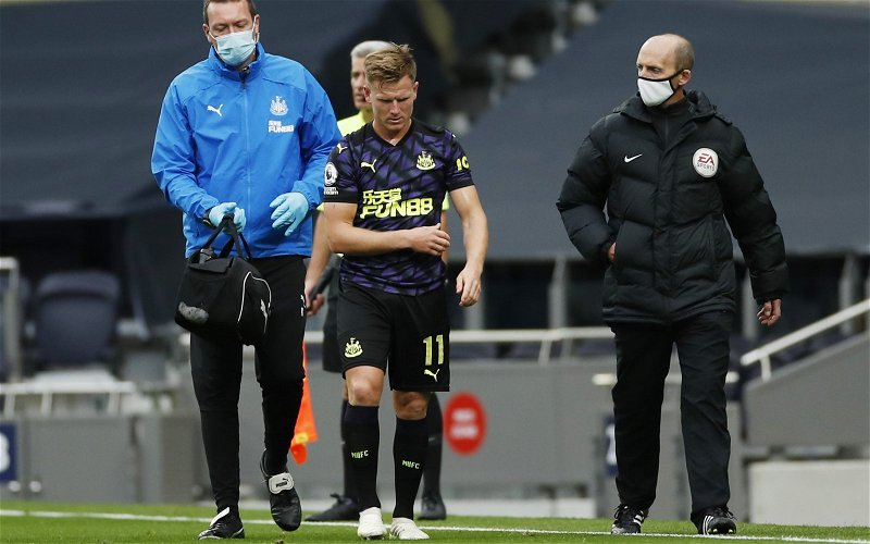 Image for Newcastle United: Liam Kennedy talks about Matt Ritchie's future