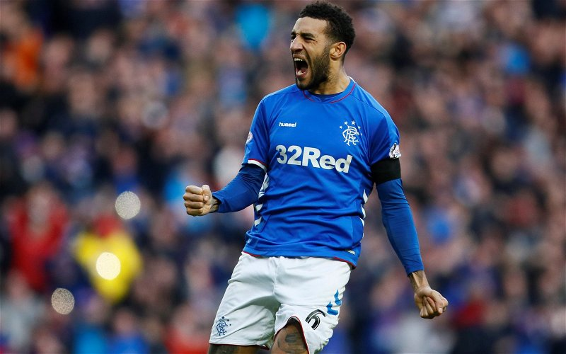 Image for Rangers: Gerrard confident about Goldson contract talks