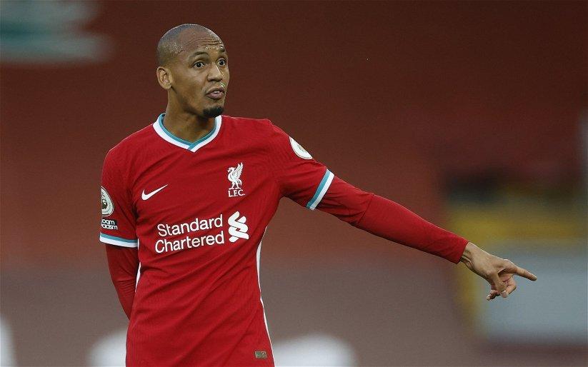 Image for Liverpool: Steve Nicol brands Fabinho's display v RB Leipzig 'the perfect performance'