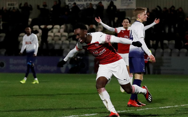 Image for Arsenal: Charles Watts claims it is 'essential' Folarin Balogun goes on loan in January