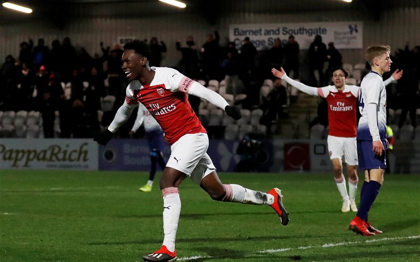 Image for Arsenal: Chris Wheatley claims Folarin Balogun 'most likely to be involved' in Carabao Cup