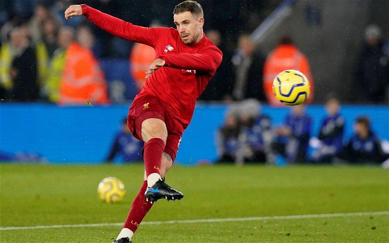Image for Liverpool: Fabrizio Romano drops Jordan Henderson transfer claim