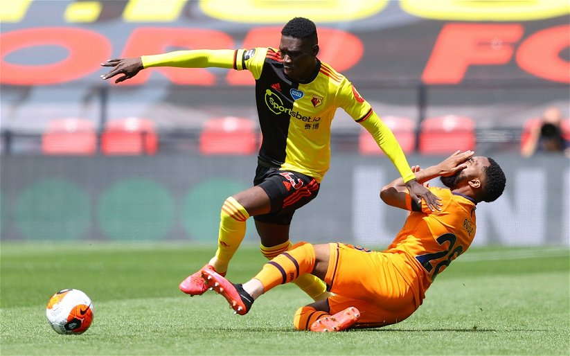 Image for Crystal Palace: Club reportedly join race to sign Watford's Ismaila Sarr