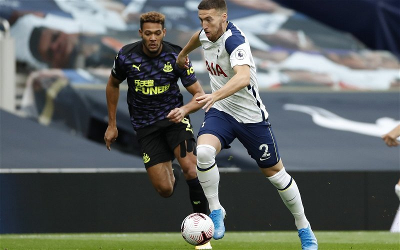 Image for Tottenham Hotspur: Fans rip into Matt Doherty for his European display