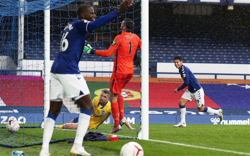 Image for Everton: David Prentice heaps praise on Abdoulaye Doucoure