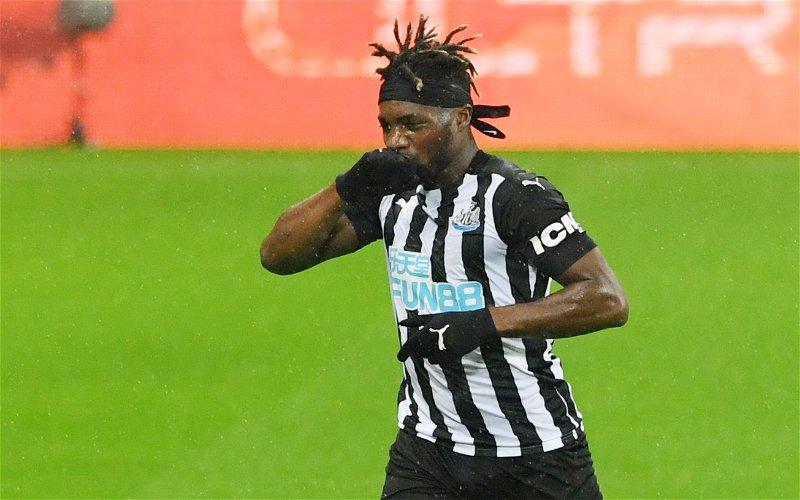 Image for Newcastle United: Fans fume as Saint-Maximin claim emerges