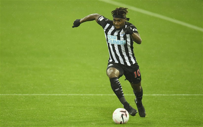 Image for Newcastle United: Fans react to Allan Saint-Maximin's post