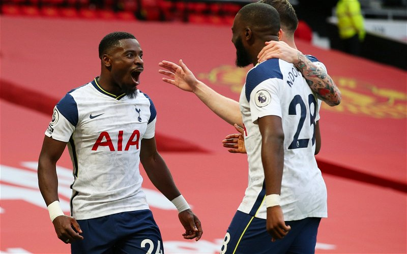 Image for Tottenham Hotspur: Fans react as Sky Sports Serge Aurier claim emerges