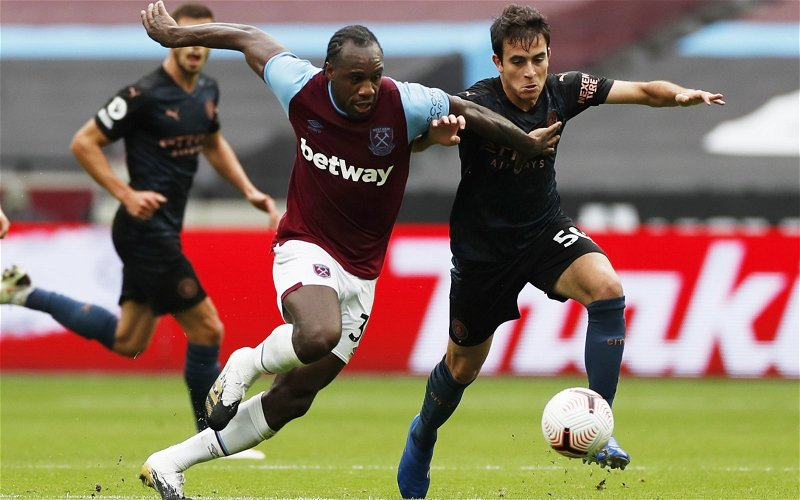 Image for Exclusive: Palmer believes Antonio can play anywhere for West Ham