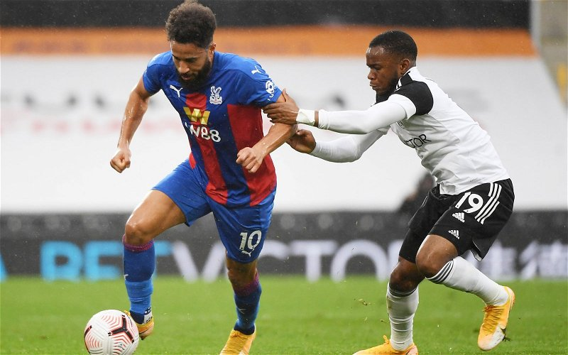 Image for Crystal Palace: Dan Cook praises Andros Townsend