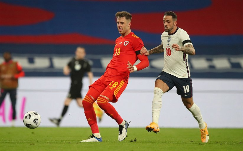 Image for Tottenham Hotspur: Fans react to footage of Joe Rodon's block whilst playing for Wales