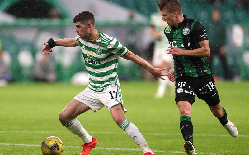 Image for Celtic: Fans flock to departure claim on Ryan Christie