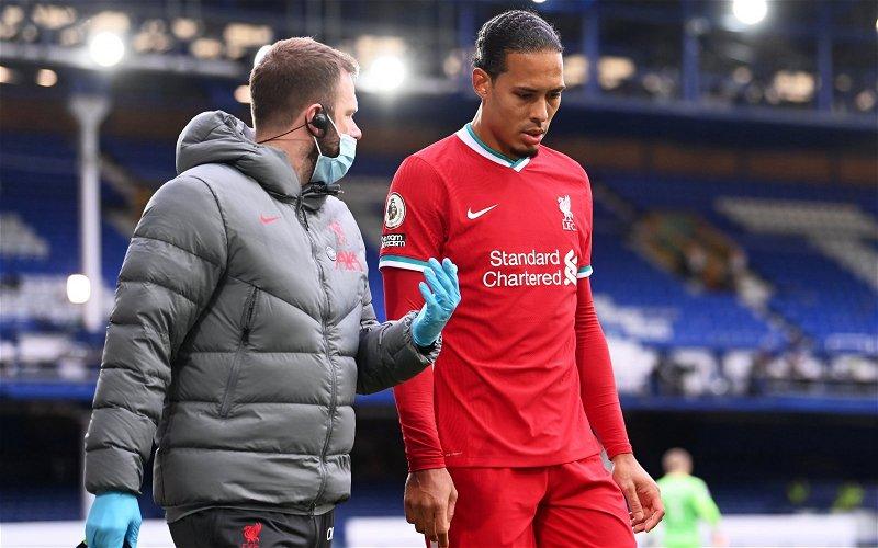 Image for Exclusive: Paul Stewart reckons returning Virgil van Dijk and Joe Gomez will be like new signings for Liverpool