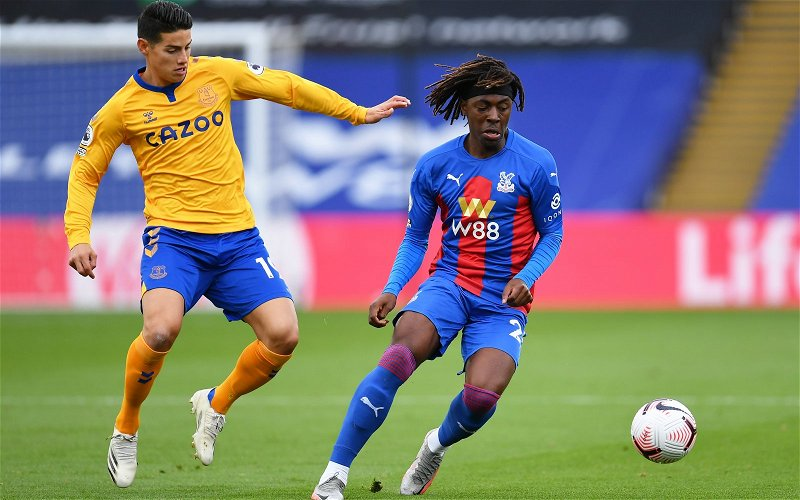 Image for Crystal Palace: Dan Cook discusses Eze's injury
