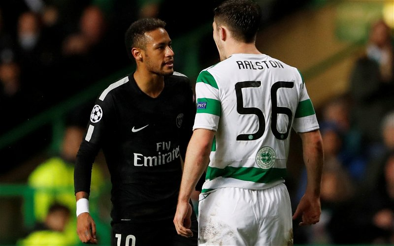 Image for Celtic: Fans react to Anthony Ralston's Scotland snub