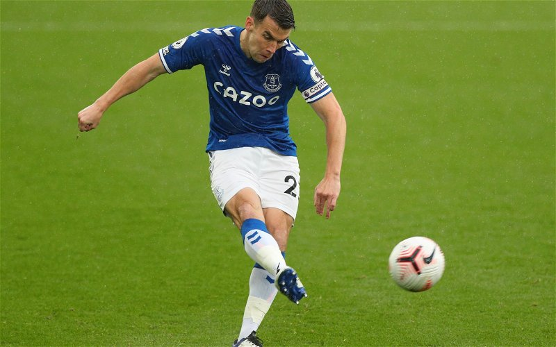 Image for Exclusive: Marcus Bent can't see Seamus Coleman leaving Everton anytime soon