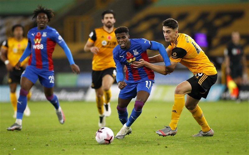 Image for Journalist tips Wilfried Zaha to do U-turn and sign new Crystal Palace deal
