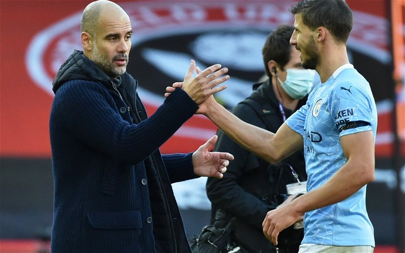 Image for Palmer: Ruben Dias gave Manchester City that solid foundation