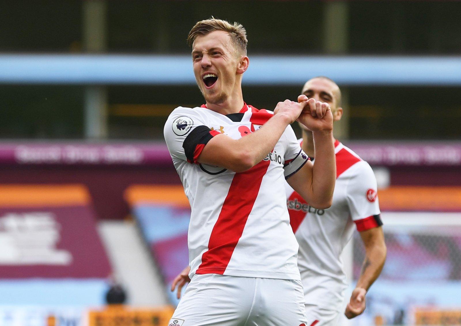 Image for Southampton: Chris Sutton heaps praise on James Ward-Prowse