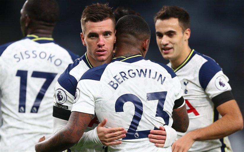 Image for Tottenham Hotspur: Fans slam Steven Bergwijn's first-half performance