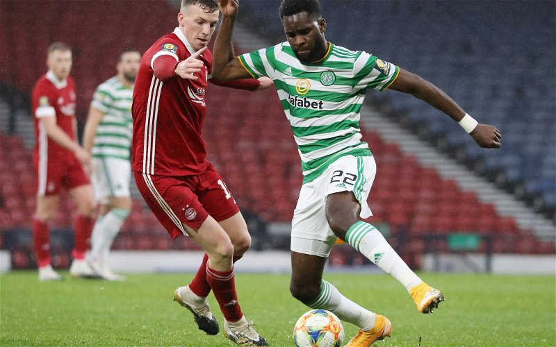 Image for Celtic: Journalist discusses Odsonne Edouard situation
