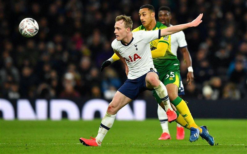 Image for Tottenham Hotspur: Fans destroy Oliver Skipp's first-half display