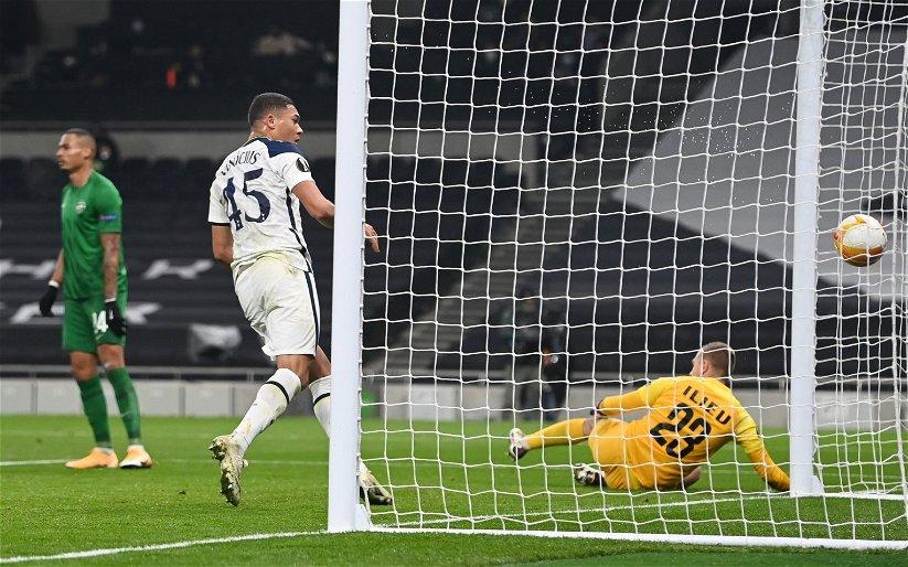 Image for Tottenham Hotspur: Alasdair Gold drops hint on Vinicius future