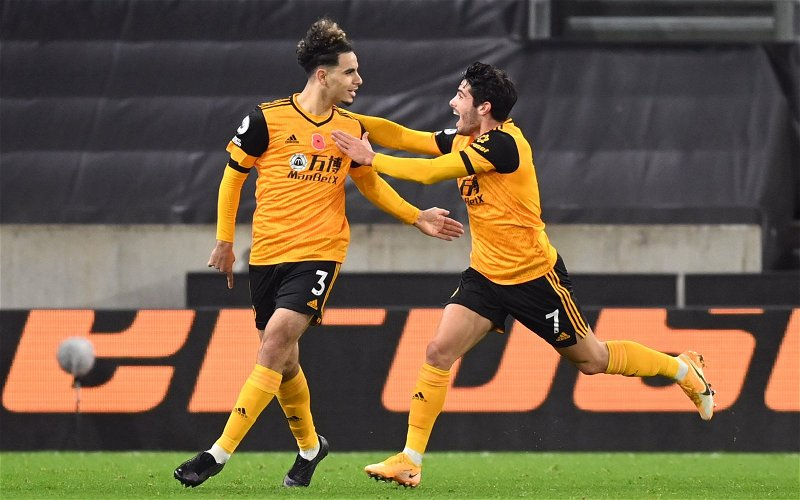 Image for Wolves: Steve Bull rips Rayan Ait-Nouri for part of his game that he doesn't like