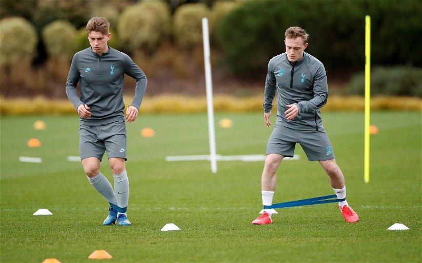 Image for Tottenham Hotspur: Alasdair Gold drops Dennis Cirkin transfer claim