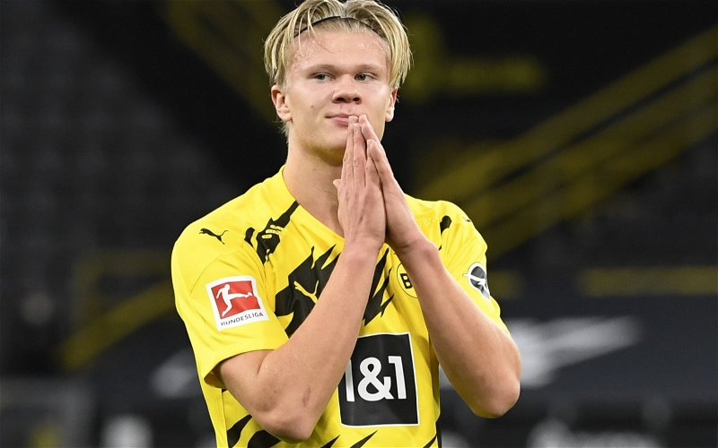 Image for Leeds United: Fans react as Erling Haaland image emerges