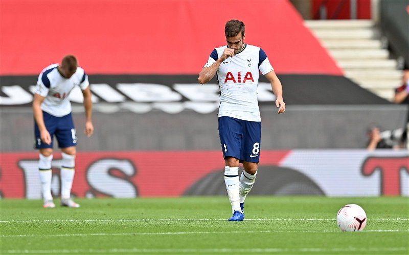Image for Tottenham Hotspur: A lot of fans are furious with Harry Winks claim