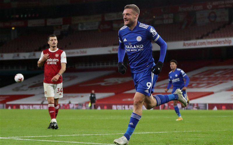 Image for Leicester City: Mark Halsey has his say on Jamie Vardy's penalty appeal
