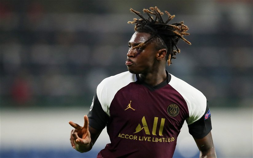 Image for Everton: Romano talks about Moise Kean's future at the club