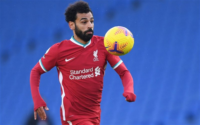 Image for Liverpool: Trevor Sinclair discusses Mohamed Salah's contract situation