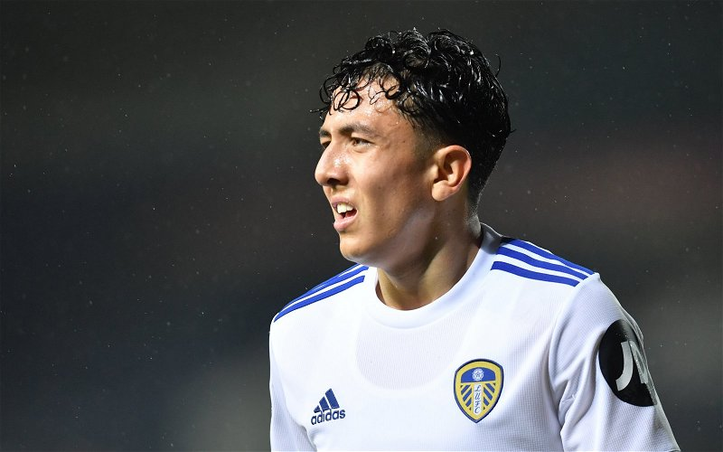 Image for Leeds United: Beren Cross claims Ian Poveda should feature in club's next match