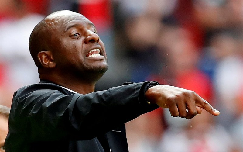 Image for Woosnam: Everyone at Palace can learn from Vieira