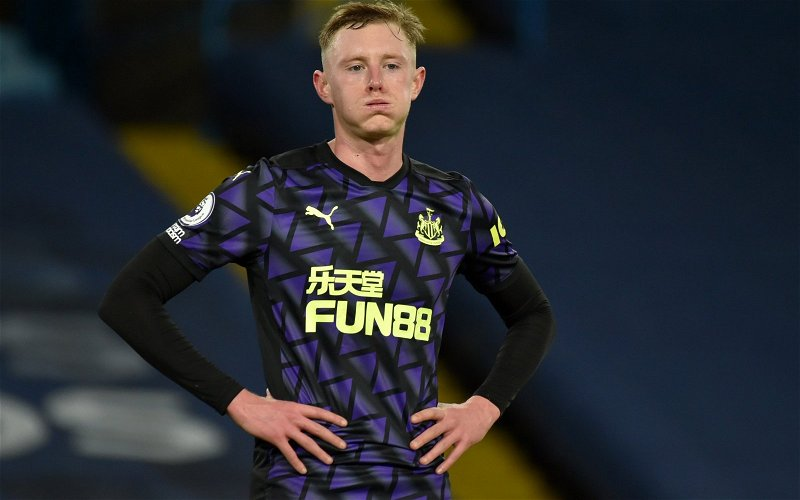 Image for Newcastle United: Many fans slam Longstaff's interview