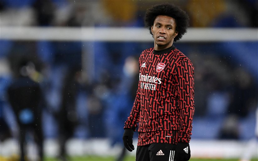 Image for Arsenal: Charles Watts discusses Willian's future