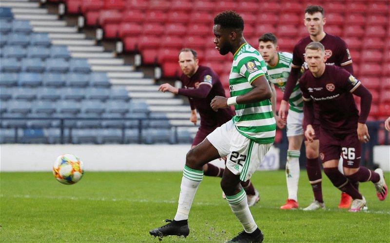 Image for Celtic: Journalist discusses potential Odsonne Edouard exit
