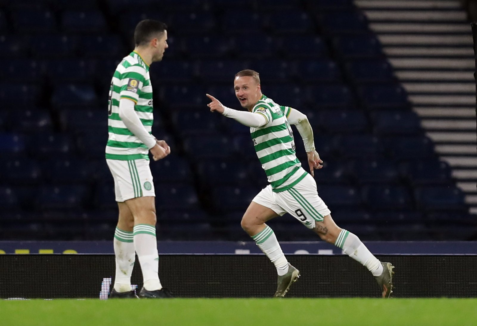 Leigh Griffiths playing for Celtic