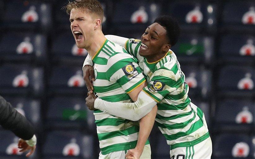 Image for Celtic: Fans react to Kristoffer Ajer transfer claim