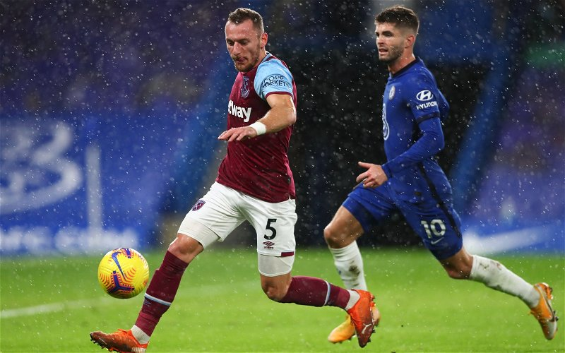 Image for West Ham United: Ex drops details on potential new Vladimir Coufal contract
