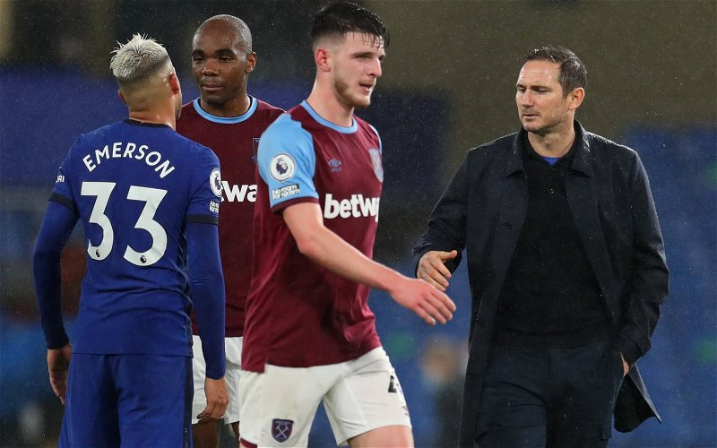 Image for Journalist believes Declan Rice would take Chelsea's title aspirations to a new level