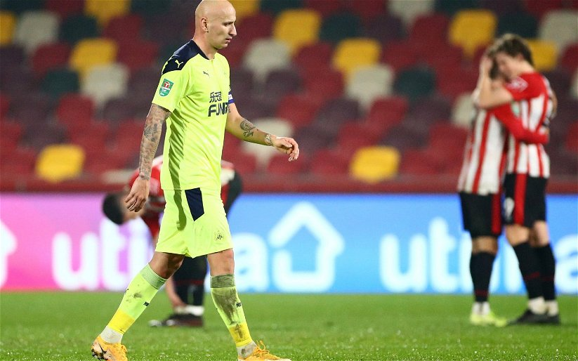 Image for Newcastle United: Fans slam the performance of Jonjo Shelvey