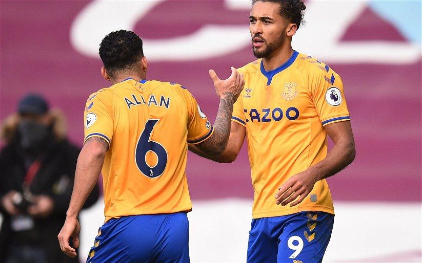 Image for Everton: Micah Richards heaps praise on Dominic Calvert-Lewin