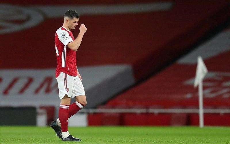 Image for Arsenal: Charles Watts discusses Granit Xhaka's injury status