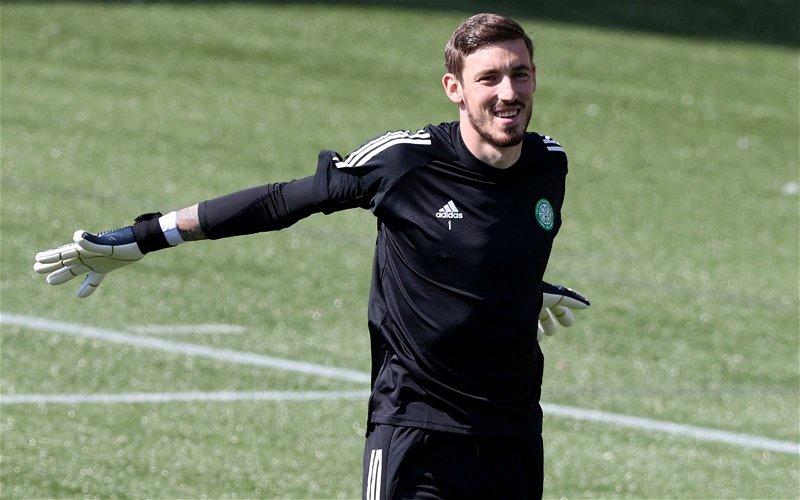 Image for Celtic: Many fans slamVasilis Barkas online after 'shocking' warm-up video emerges